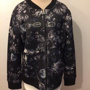 Black Bebe Sport jacket - size L (NWT)